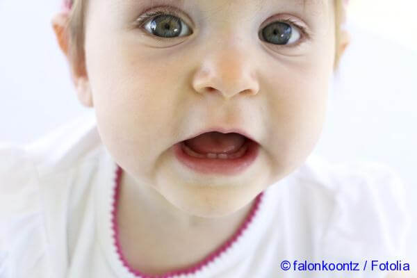 how to determine the growth of teeth in infants