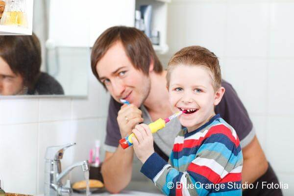 Oral care of children